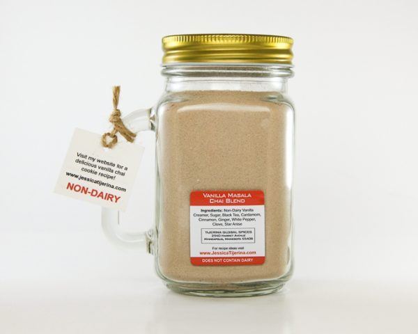 Masala Chai Vanilla Latte Mason Jar